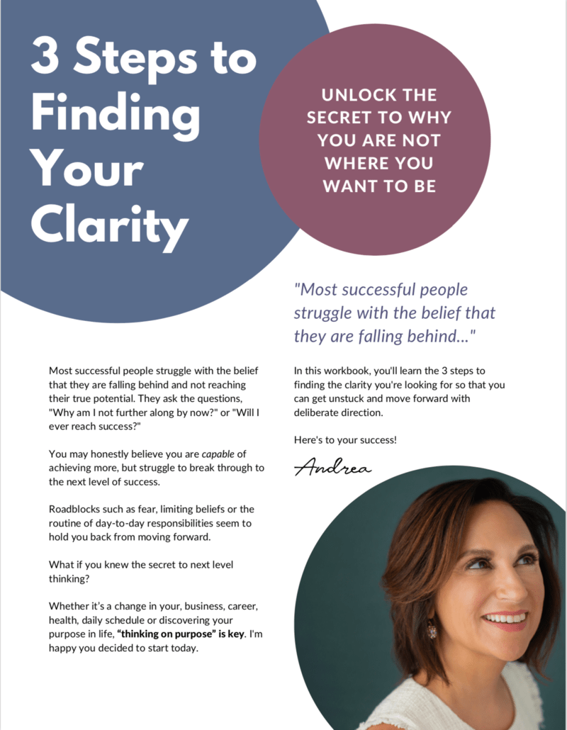 Finding Your Clarity